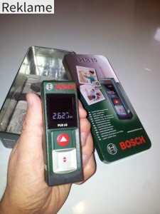 Bosch PLR 15 test