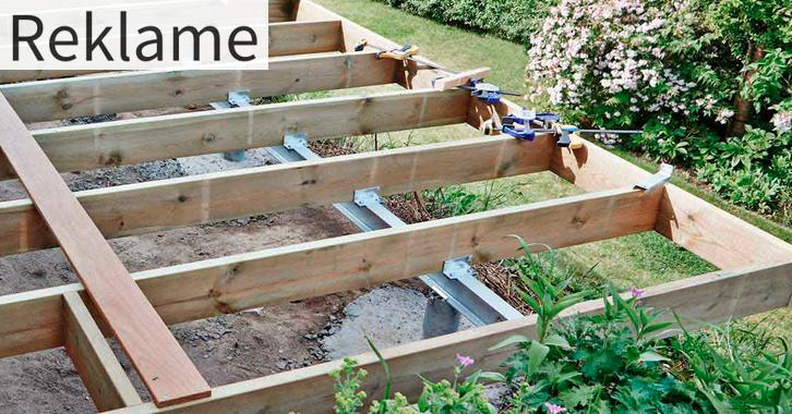 Ny Sådan bygger du din egen træterrasse   Byggebloggen VE65